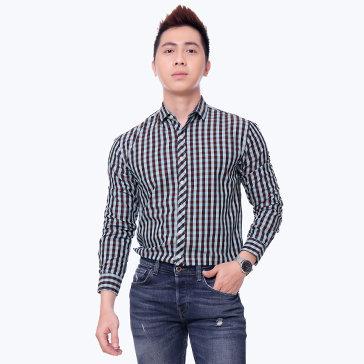 Áo Sơ Mi Nam Tay Dài S2115030 TH MK Jeans