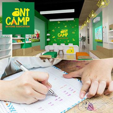 06 Buổi Học Rèn Chữ Đẹp + Kỹ Năng Cho Bé Từ 5 - 11 Tuổi Tại Trung Tâm ANT CAMP