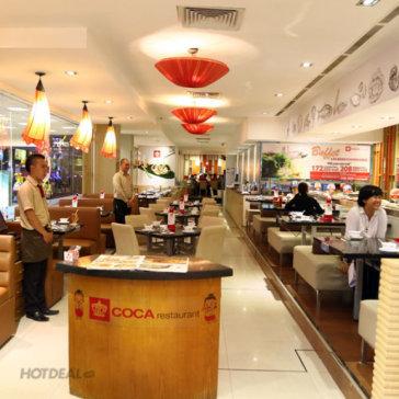 Buffet Thái Lẩu Băng Chuyền Hơn 40 Món Tại Coca Restaurant - Parkson Hùng Vương Q5