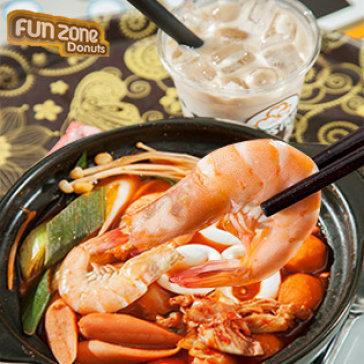 Combo Mì Cay Hải Sản + Trà Sữa Trân Châu Siêu Ngon Cho 01 Người - Funzone Donut