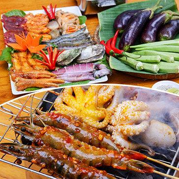 Nhà Hàng Tân Hoa Cau - Set Nướng BBQ 8 Món