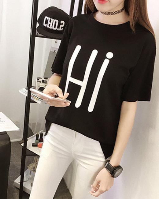 Áo Thun Nữ Hi - TH T&D