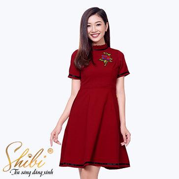 Đầm Dự Tiệc Cao Cấp Shibi SB096
