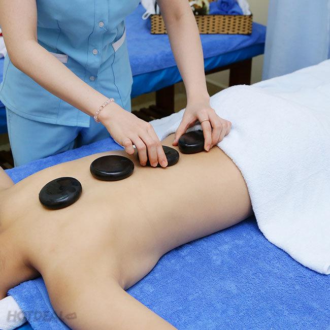 Massage Body + Massage Foot + Xông Hơi + Đắp Mặt Nạ Collagen (80 Phút)...
