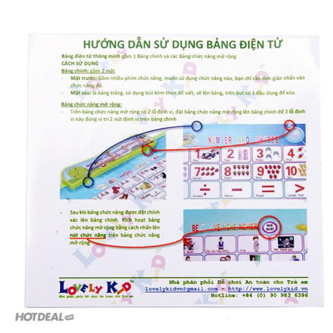 Bảng Điện Tử Thông Minh Anh – Việt 9 Trong 1 Nguyên Khải