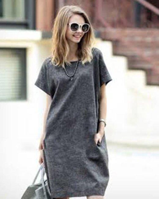 Đầm Form Rộng Lisa