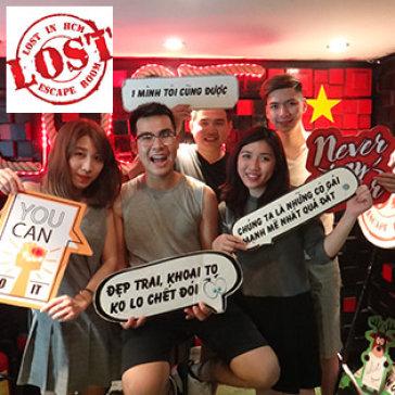 Lost Escape Room - Trò Chơi Nhập Vai Thực Tế Đầy Hồi Hộp & Lý Thú