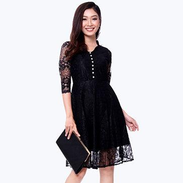 Đầm Ren Tiana Quý Phái