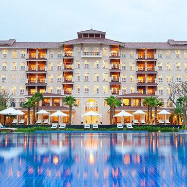 Vinpearl Đà Nẵng Resort & Villas 5* - Phòng Deluxe 2 Ngày 1 Đêm – Gồm Buffet 03 Bữa Cho 02 Khách