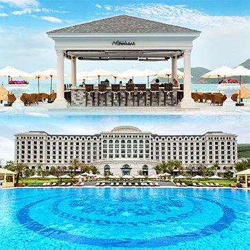 Vinpearl Nha Trang Golf Land Resort & Villas 5* – Phòng Deluxe Room 2N1Đ – Bao Gồm Buffet 3 Bữa