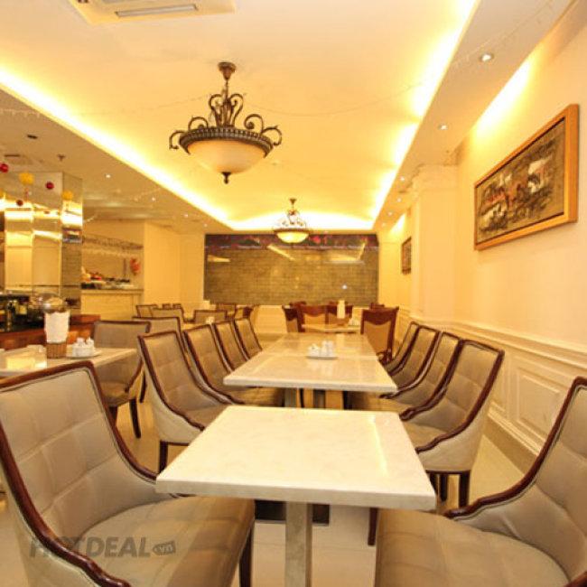 2 Phần Bibimbap Hàn Quốc + 2 Ly Coca - Blue Diamond Hotel