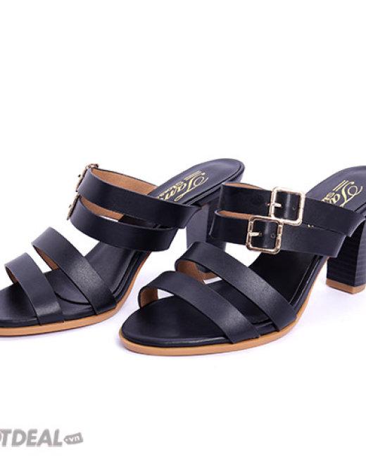 Dép Cao Gót Đan Dây Tamy Shoes