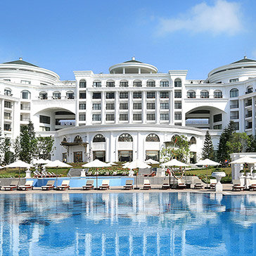 Vinpearl Hạ Long Bay Resort 5* – Phòng Deluxe Room 2 Ngày 1 Đêm – Bao Gồm Buffet 3 Bữa Cho 02 Khách