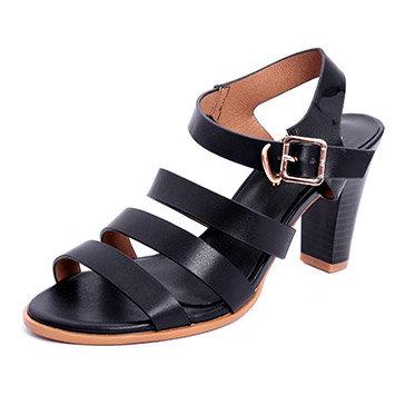 Giày Sandal Cao Gót Chiến Binh Tamy Shoes AD7151