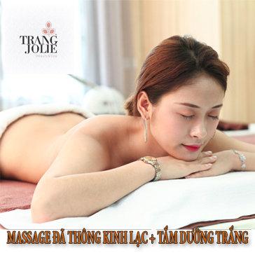 Massage Đả Thông Kinh Lạc + Tắm Dưỡng Trắng Bằng 7 Loại Đậu...