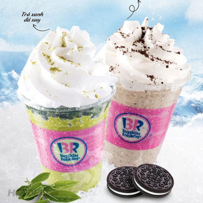 Baskin Robbins - Voucher Giảm Giá Sock Các Loại Kem Và Thức Uống...