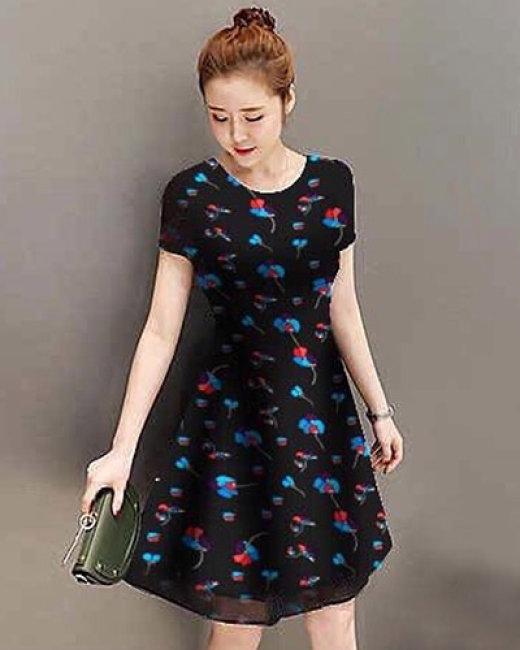 Đầm Hoa Tina Fashion
