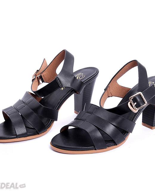 Giày Sandal Cao Gót Đan Dây Tamy Shoes AD7 171