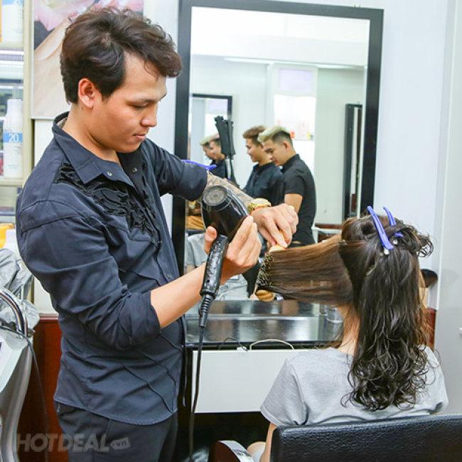 Hair Salon Long Thái - Trọn Gói Làm Tóc Cao Cấp - Tặng Hấp Dầu