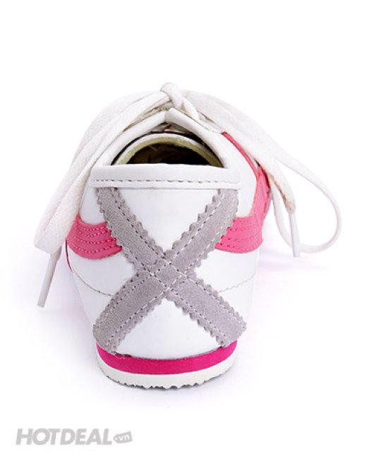 Giày Thể Thao Nữ 2 Sọc Cá Tính