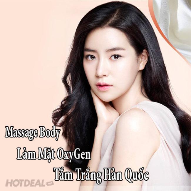 Massage Body / Làm Mặt Oxygen/ Tắm Trắng Hàn Quốc Tại Alli Spa &...