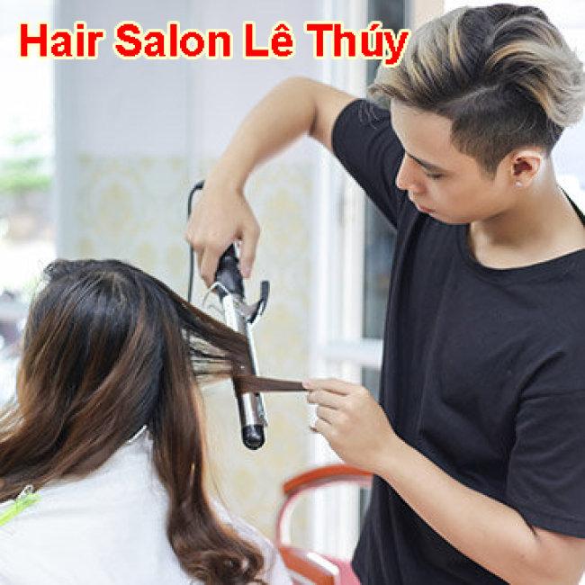 Hair Salon Lê Thúy - Trọn Gói Uốn/ Duỗi/ Nhuộm + 2 Lần Hấp Dầu...