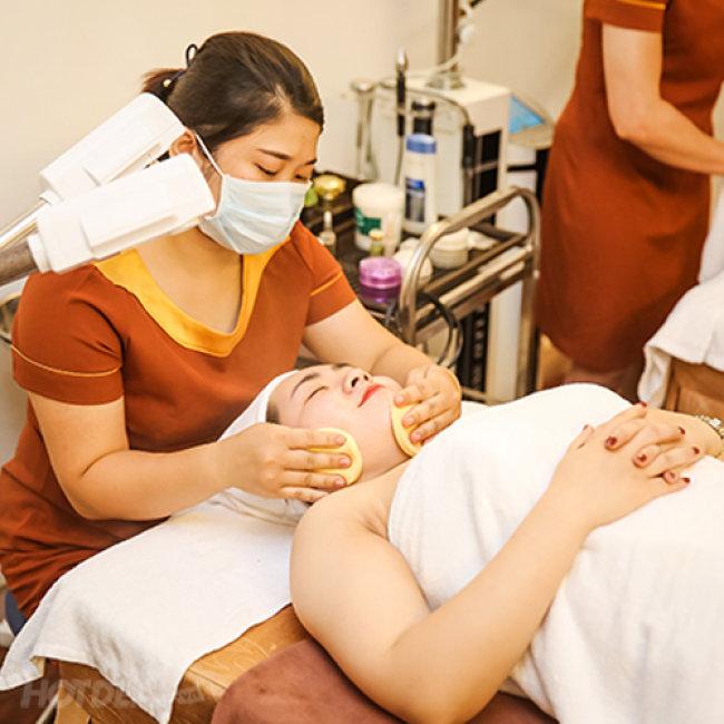 Buffet Spa - Thỏa Sức Làm Đẹp Massage Thư Giãn Tại Làng Spa