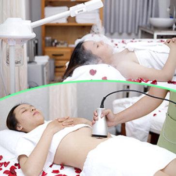 Xông Hơi + Massage Body + Foot/ Chăm Sóc Da Mặt/ Tan Mỡ Siêu Tốc