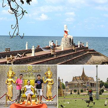 Tour Campuchia 3N3Đ Giá Cực Sốc – Đặc Biệt Bốc Thăm Trúng Tour 01 Ngày Miễn Phí – Khám phá Đảo Thiên Đường Koh Than Sour – Biển Kép – Sihanoukville