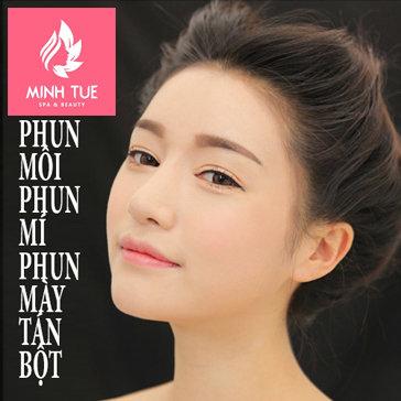 Đẹp Hoàn Hảo Với Phun Môi, Phún Mí, Phun Mày Tán Bột Tại Minh...