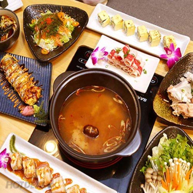 Buffet Sushi Và Lẩu Nhật Bản Tại Nhà Hàng Furano Sushi & Edo Yakiniku