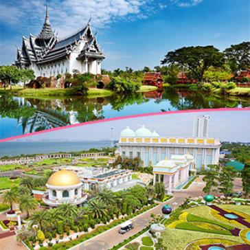 Tour Thái Lan 6N5Đ Bangkok - Pattaya Nghỉ KS 3*, 4* Tặng Massage Thái - Chợ Nổi 4 Miền - Xe Đưa Đón Ngày Free Day - Khởi Hành Hằng Ngày