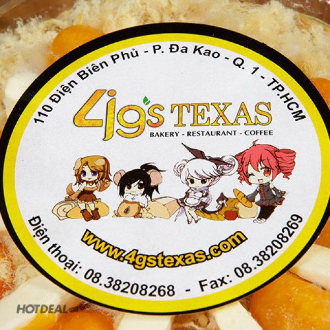 Bông Lan Trứng Muối Phô Mai Chà Bông Đặc Biệt Tại 4G's Texas...