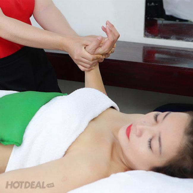 Massage Tan Mỡ Bụng + Đắp Tảo Quấn Nóng Làm Ốm - F'miss Spa