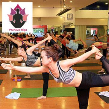 Khóa 30 Buổi Tập Yoga & Dance, Zumba, Aerobic, Bollywood Không Giới Hạn Thời Gian Tại Pranava Yoga