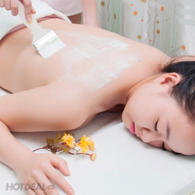 Tẩy Da Chết + Ủ Trắng Toàn Thân, Massage Body (Tặng Đắp Mặt...
