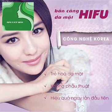 Nâng Cơ, Tạo Mặt V-Line Công Nghệ Mới Hifu 2017 Tại Spa Việt Hàn...