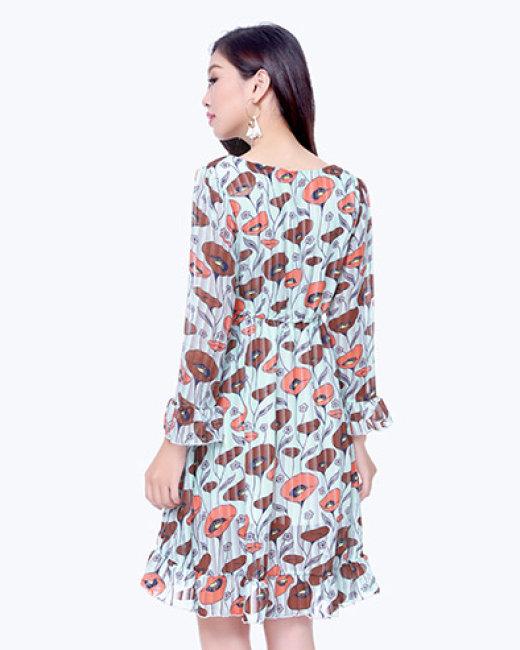 Đầm Hoa Dạo Phố