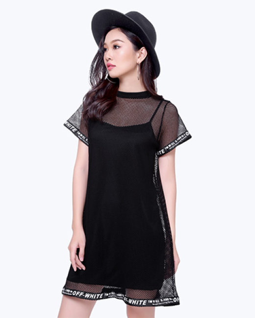 Đầm Lưới Nữ Street Style