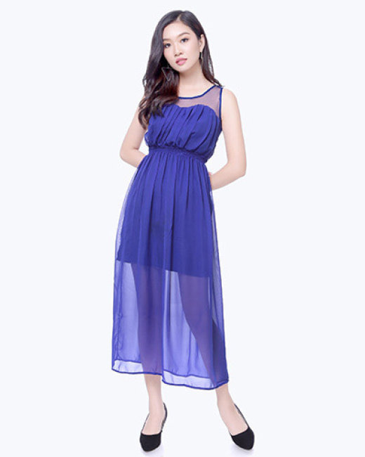 Đầm Maxi Đi Biển Cách Điệu