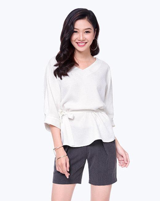 Áo Kiểu Cánh Dơi Thắt Đai Fashion