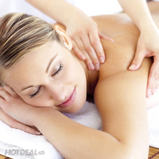 Massage Body Thư Giãn Thảo Dược + Chăm Sóc Da Mặt Trắng Sáng Thanh...