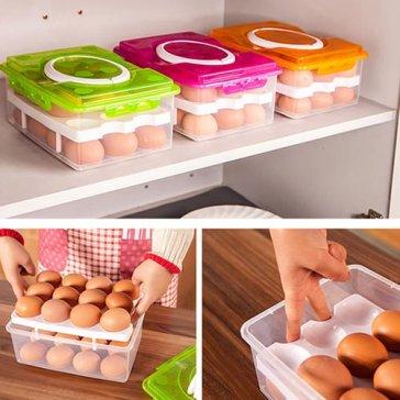 Hộp Đựng Trứng 02 Tầng 24 Trứng Tiện Dụng