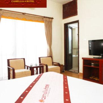 Khách sạn Camellia 4 Hà Nội - Trung Tâm Phố Cổ - 2N1Đ Dành Cho 02 Khách