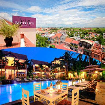 Mercure Hội An Royal Hotel 4* 3N2Đ - Tặng Tour Tham Quan Cù Lao Chàm Cho 2 Người - Phòng Standard Double/ Twin - Gồm Ăn Sáng - Không Phụ Thu Cuối Tuần