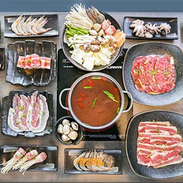 Buffet Tối Bò Mỹ Nướng & Lẩu Hải Sản - Hong Kong Town SC Vivo City