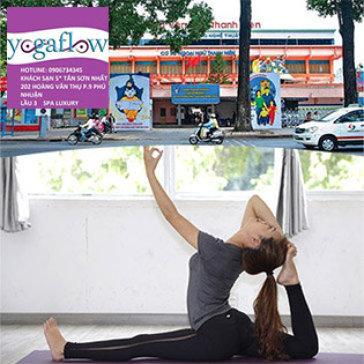 Trọn Gói 15 Buổi Tập Yoga Đẳng Cấp 4* – Miễn Phí Xông Hơi Tại Yoga Flow Chi Nhánh Quận 1