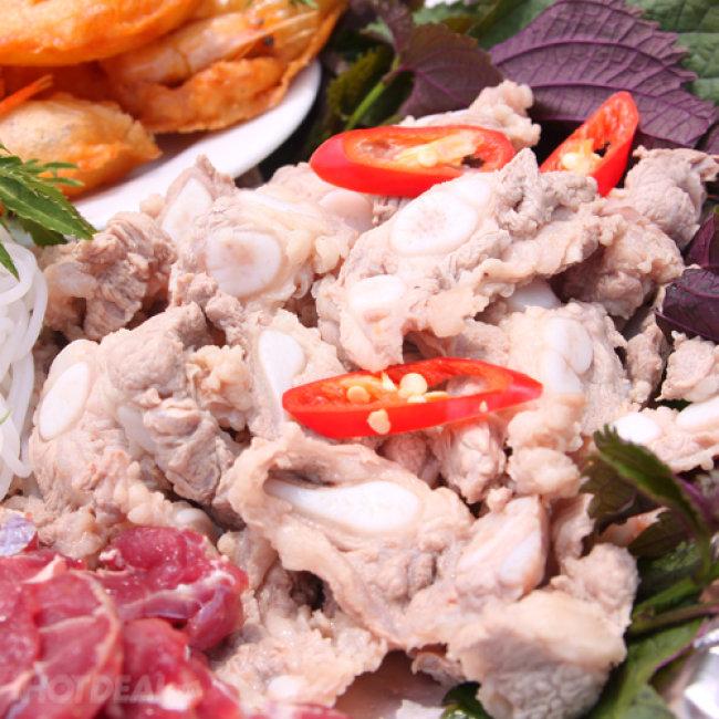 Set Bánh Tôm Hồ Tây + Lẩu Riêu Cua Truyền Thống Hà Nội Tại Nhà...
