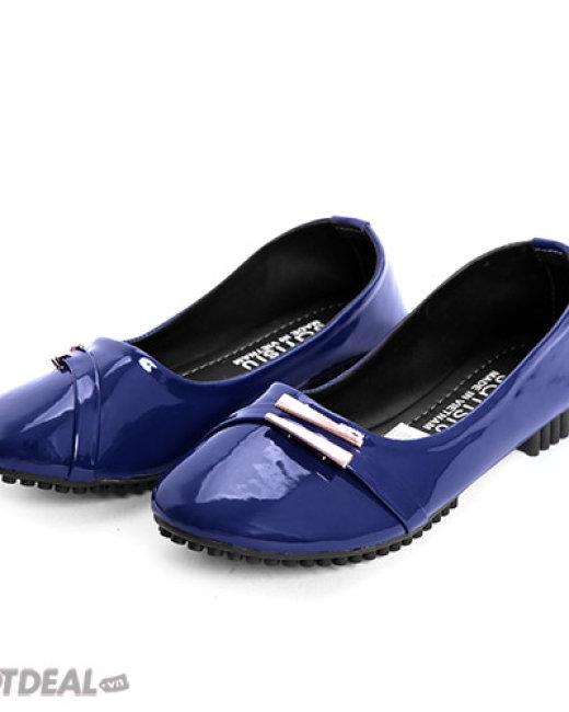 Giày Búp Bê Nẹp Kim Loại Sarisiu 822