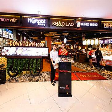 Downtown Food - Hệ Thống 7 Nhà Hàng Nổi Tiếng: King BBQ, Hotpot Story, Khao Lao, Sushi Kei... Áp Dụng Toàn Menu Không Giới Hạn Số Lượng Voucher